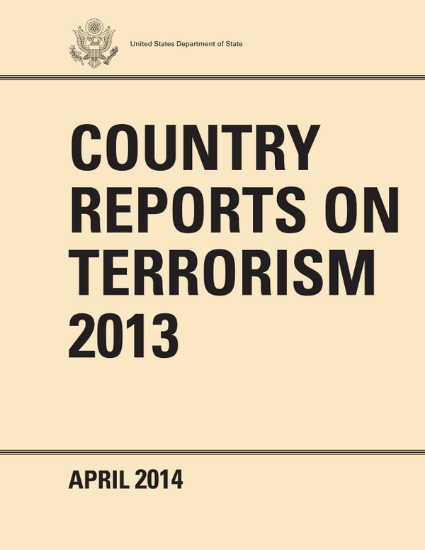 Country Reports on Terrorism 2013