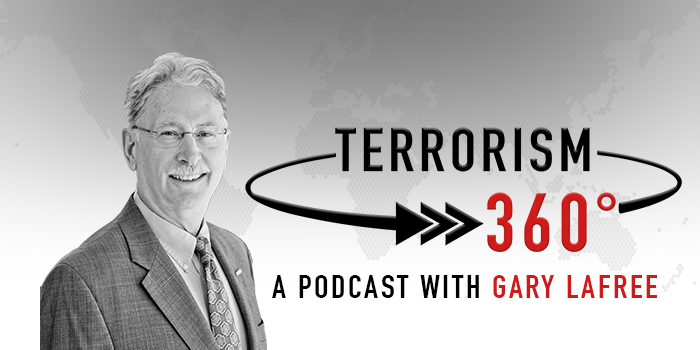 Terrorism 360 Podcast marketing banner image